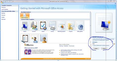 membuat database karyawan dengan access 2010 tutorial membuat database menggunakan microsoft access dan