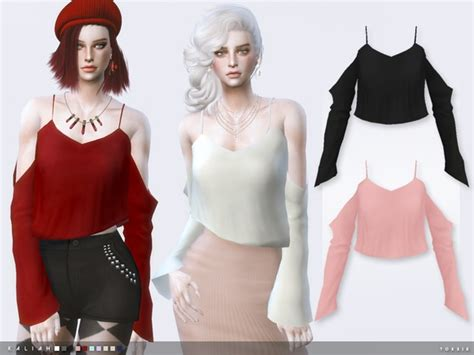 sims 4 clothing for females sims 4 updates the sims resource kaliah by toksik sims 4 downloads