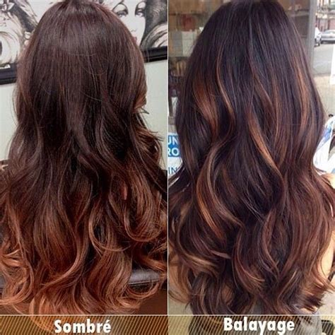 balayage hair color vs ombre balayage hair color vs ombre