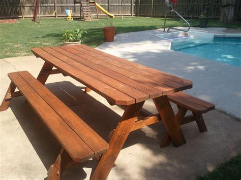 custom picnic tables adam s fence company custom picnic tables