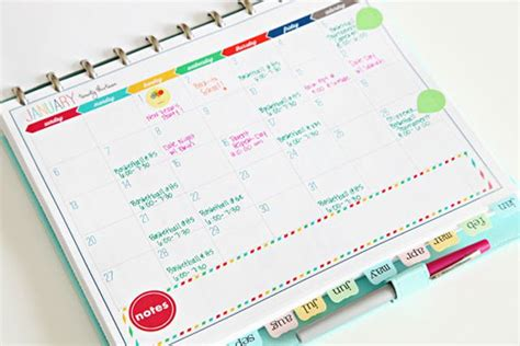 make a personal calendar how to make a diy personal planner