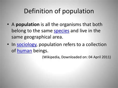 Opulate Definition ppt basic concepts of community health nursing i powerpoint presentation id 1600279