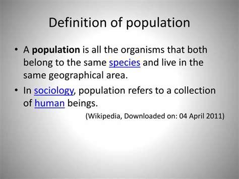 Opulate Definition Ppt Basic Concepts Of Community Health Nursing I