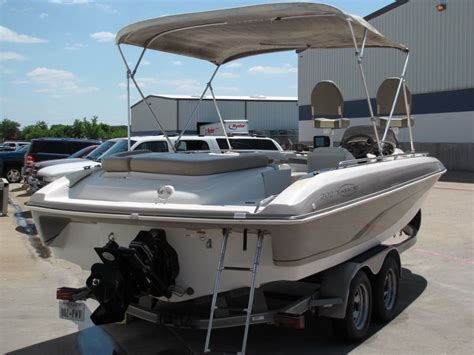 fish and ski deck boats for sale no reserve 01 tahoe 202 fish and ski 20ft deck boat with