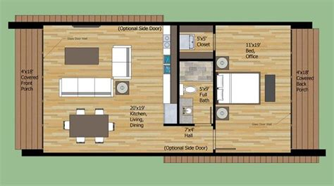 600 Square Foot House Plans by 4 Planos De Casas Peque 241 As