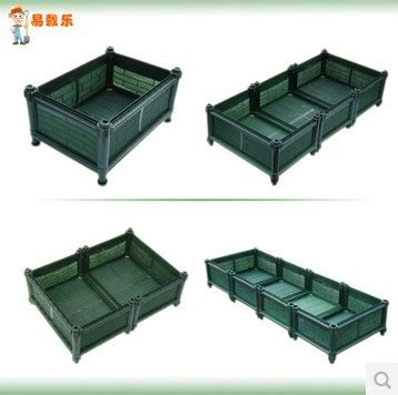 Large Rectangular Plastic Box Creative Planting Pots Plastic Garden Boxes For Vegetables