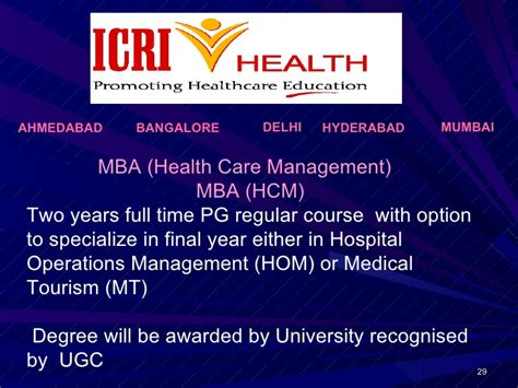 Mba In Healthcare Management In Ahmedabad by 19467689 Indian Tourism