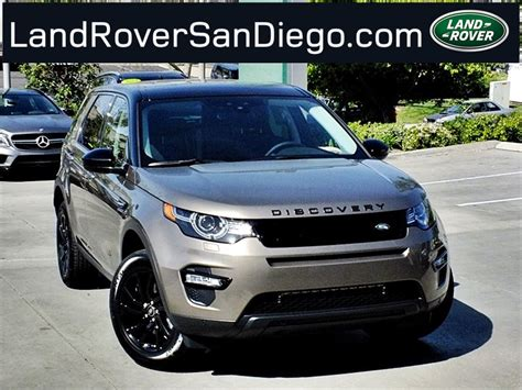 lifted land rover 2016 2016 land rover discovery sport san diego ca
