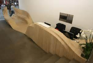 Plywood Reception Desk Cnc Routing Reception Desk