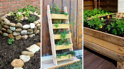 diy projects  small garden improving  garden
