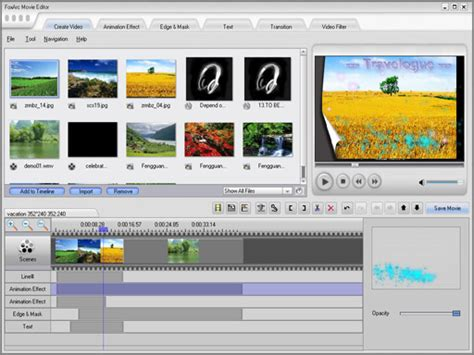 design editor free download foxarc movie editor v1 2 9 screenshots