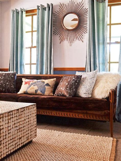 Eclectic Vintage Living Room by Transitional Living Room Values Vintage Furnishings Hgtv