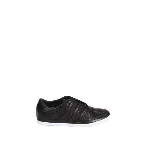 Y3 Shoes Black y3 yohji yamamoto shoes haonja low lwather in black for lyst