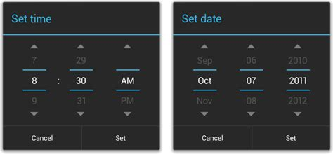 Date time picker android tutorial for beginners