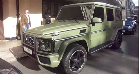 mercedes g wagon green g wagon in matte green future cars green