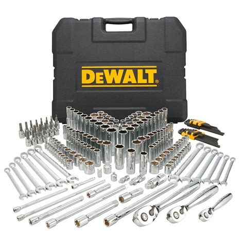 tool sets dewalt 204pc mechanics tool set ebay