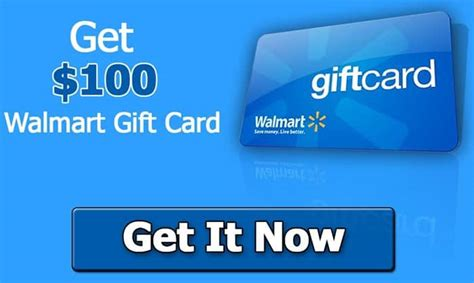 Free Walmart Gift Cards No Participation Required - win a 100 walmart gift card no purchase required