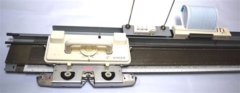 singer knitting machine sa7p singer silver reed punch card knitting