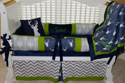 Deer Crib Bedding Set Bedroom Cozy Baby Deer Nursery Bedding And Calm Color On Cool Crib Design Plus White Color And