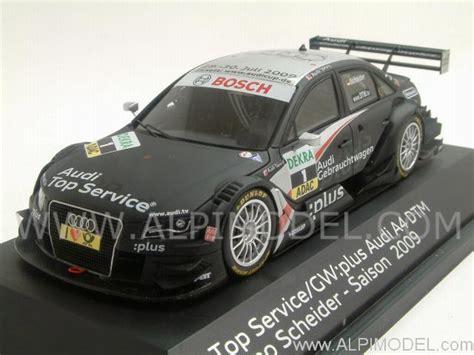 spark model Audi A4 #1 DTM 2009 Timo Scheider (Audi Promo) (1/43 scale model)
