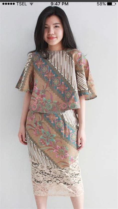 Blouse Peplum Renda Baju Rok Dress 14 best baju kebaya indonesia images on batik dress batik fashion and blouse