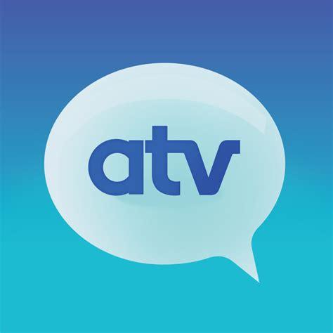 atv logo atv antwerpse televisie atv