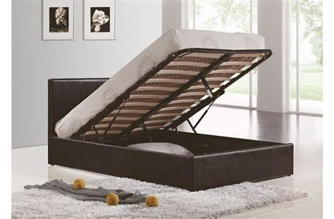 black faux leather ottoman bed berlin ottoman storage bed faux leather beds fads