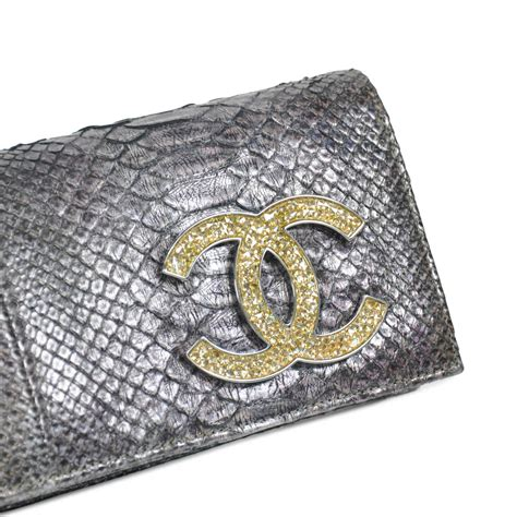 Clutch Chanel 115 second chanel python clutch the fifth collection