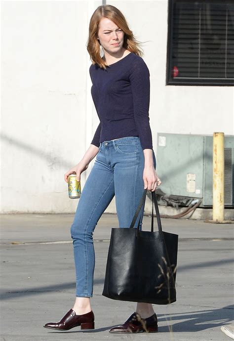 emma stone style emma stone street style out in los angeles july 2015