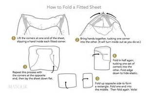 matouk how to fold a fitted sheet
