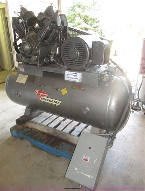 1984 dayton speedaire air compressor item h4549 sold au
