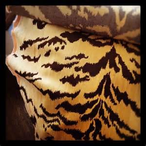 scalamandre tiger silk velvet fabrics