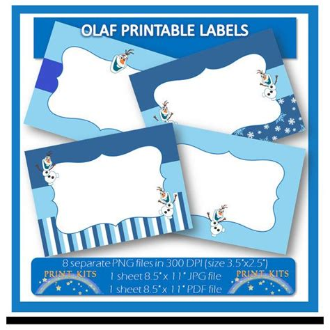 printable olaf thank you cards 215 best a hannah frozen party images on pinterest