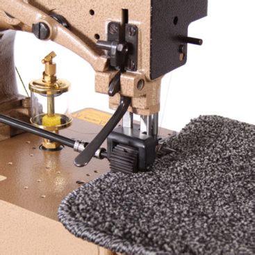 Karpet Emperor karpet king carpet whipping machines carpet sergers