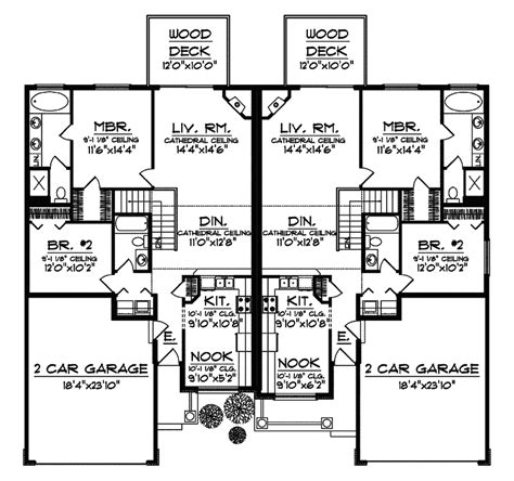 Multi Family House Plans by Marvelous Multi Family Home Plans 11 Multi Family House