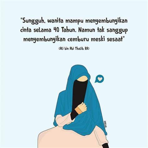 mewarnai gambar sketsa wanita muslimah bercadar terbaru