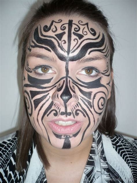 face tribal tattoo tribal tattoos designs pictures page 13