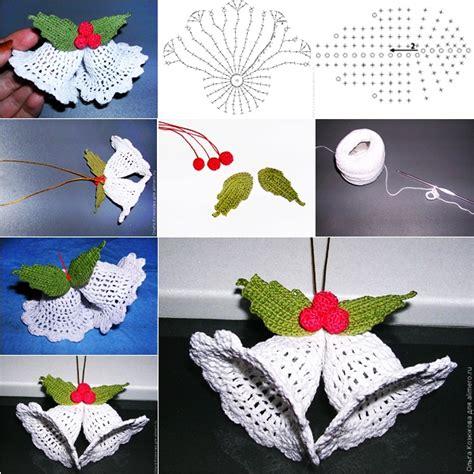 Handmade Ornaments Patterns - wonderful diy crochet ornaments with free pattern