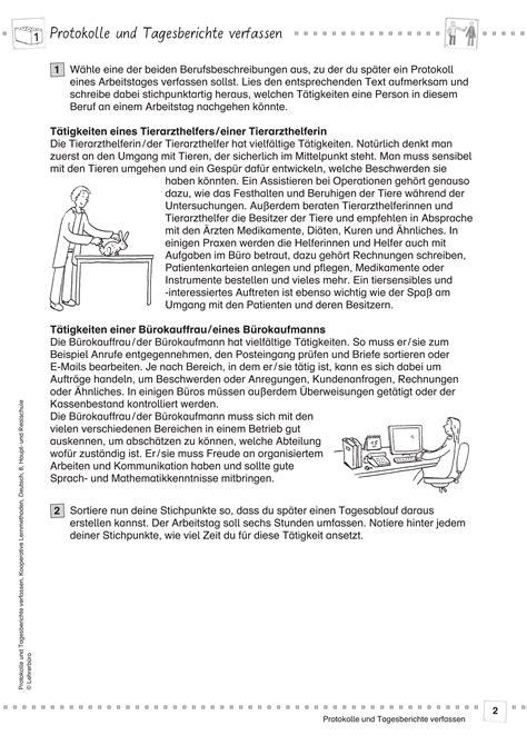 Tagesbericht Praktikum Vorlage Grundschule Bericht Arbeitsbl 228 Tter 183 Lehrerb 252 Ro