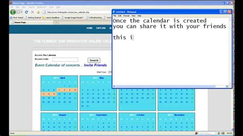 how to make an interactive calendar how to create an interactive calendar