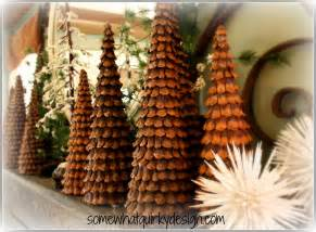 pine cone tree somewhat quirky pine cone christmas trees