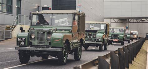 land rover defender inside land rover defender celebrating the last see