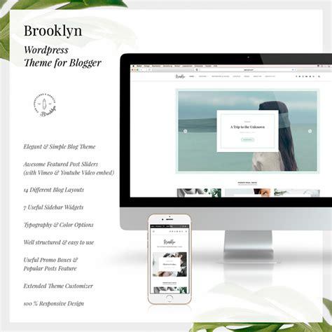 brooklyn theme blog excerpt bklyn wordpress blog theme by egotype themeforest