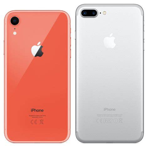 compare smartphones apple iphone xr vs apple iphone 7 plus cameracreativ