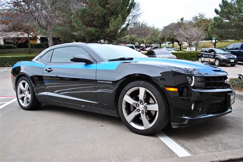 Stripes Metallic custom matte blue metallic stripe kit car wrap city
