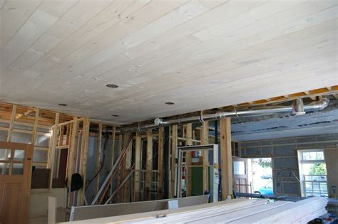 Knotty Pine Tongue And Groove Ceiling by September 2011 Design Construction Of Spartan