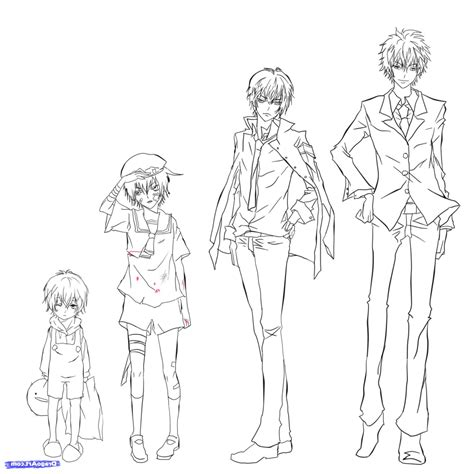 by step how to draw anime boys step drawing anime boy cool full body anime full body boy