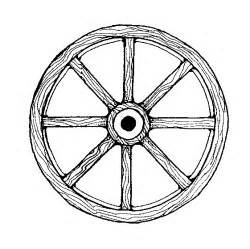 Newagon Wheel Colouring Pages sketch template