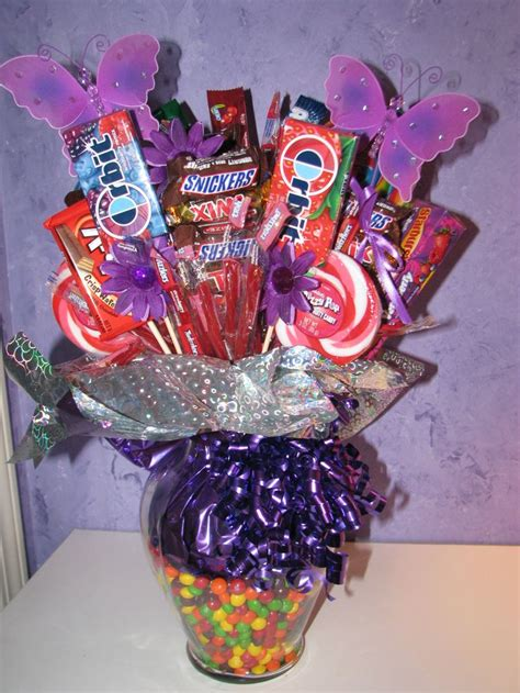 bouquet diy diy candy bouquet fun birthday gifts pinterest