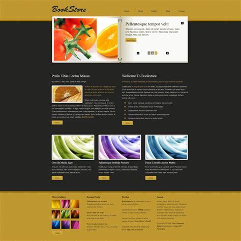 30 Free Responsive Html5 Css3 Templates Design Geekz Bookstore Website Template